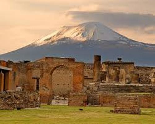 Ancient Pompeii Damages