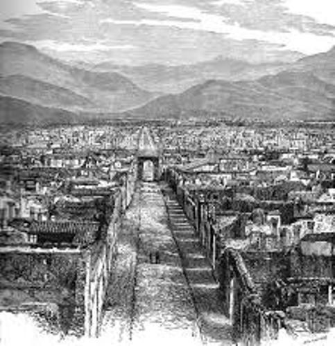 Ancient Pompeii Pic