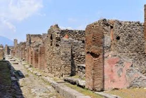 Ancient Pompeii Ruins