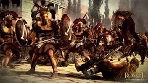 Ancient Sparta Warriors