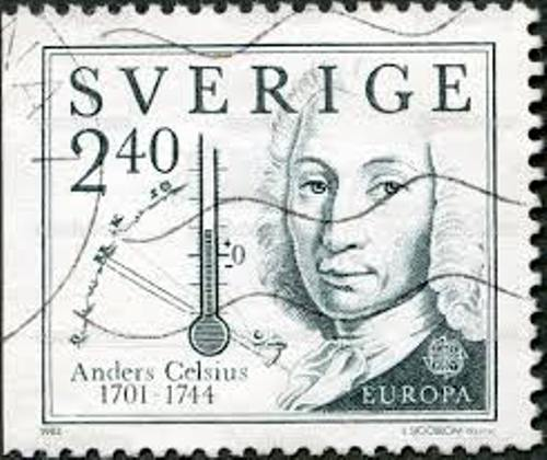 Anders Celsius Stamp