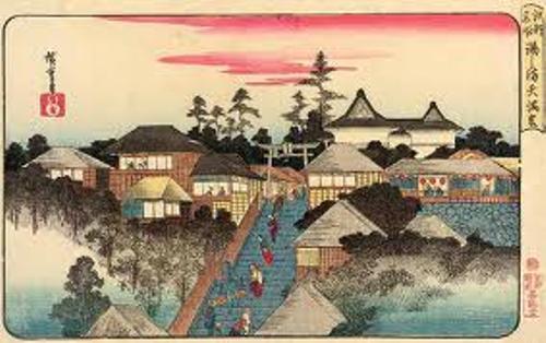 Ando Hiroshige Painting