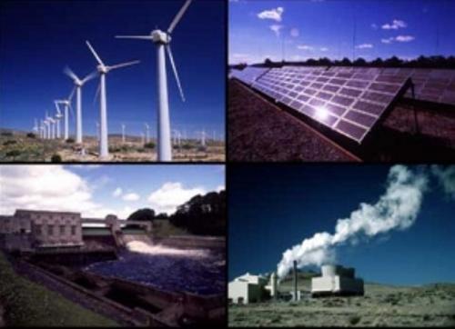 Types of  Alternative Energy Resources