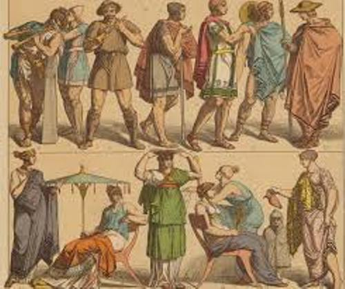 facts about Ancient Greece Clothing