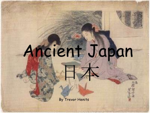 facts about Ancient Japan