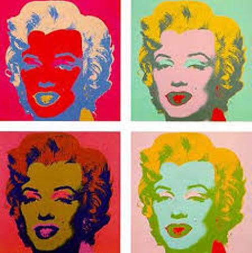 Andy Warhol's Art Marilyn Monroe