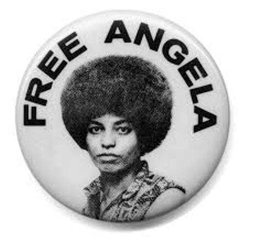 Angela Davis Pin