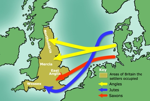 Anglo Saxon Migration