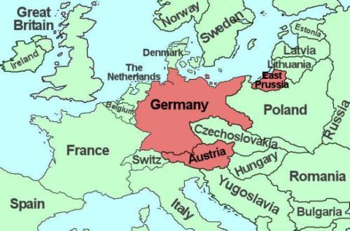Anschluss Map