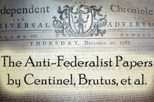 Anti-Federalist Articles
