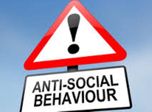 Anti Social Behaviour Sign
