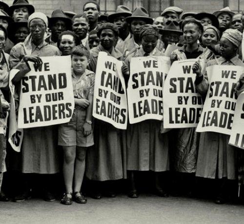 Apartheid Protest