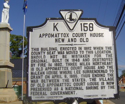 Appomattox Court House Facts