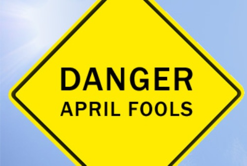 April Fool and Prank