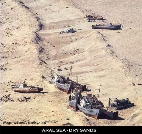 Aral Sea Barren