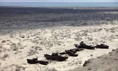 Aral Sea Dryness
