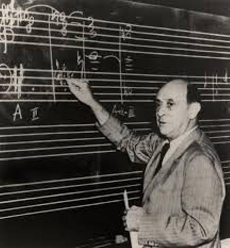 Arnold Schoenberg Teaching