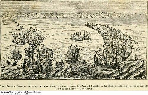 Spanish and English Armada