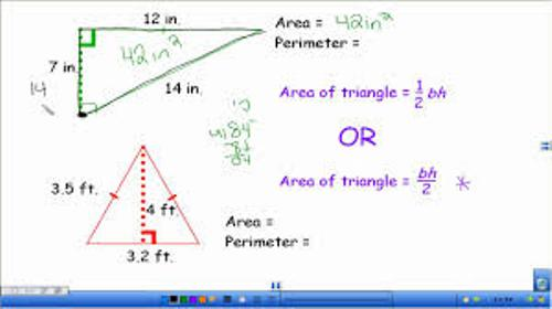 Area and Perimeter Formula