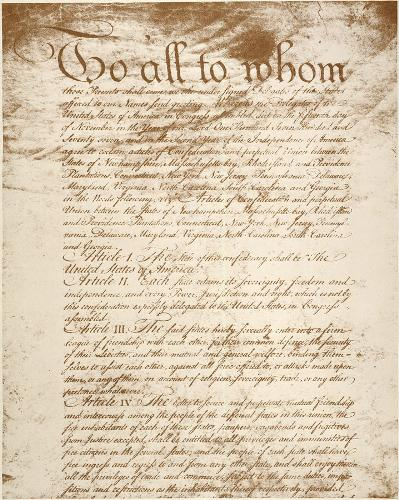 Articles of Confederation Pic