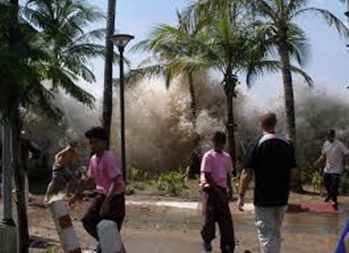 Asian Tsunami Image