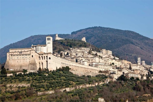 Assisi Italy Scene