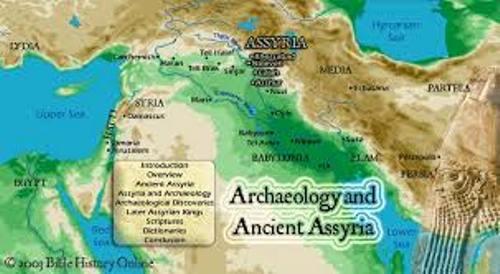 Assyrians Map