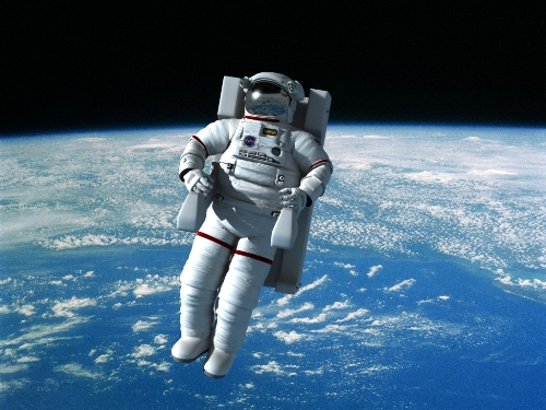 Astronauts on Space