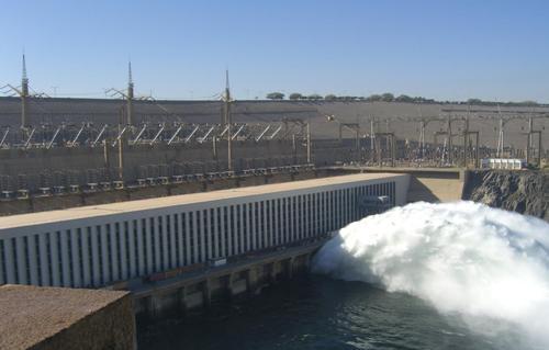 Aswan Dam Image