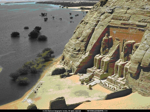 Aswan Dam Pic