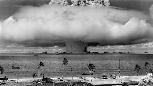 Atomic Bomb in Hiroshima and Nagasaki
