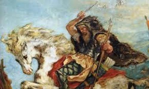 Attila the Hun Painting