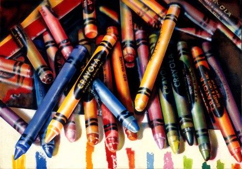 Audrey Flack Crayola