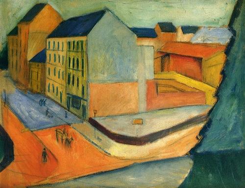 August Macke Painting