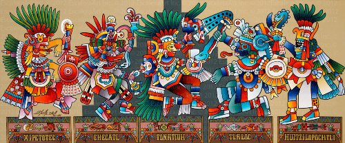 9 Facts about Aztec Gods | Fact File