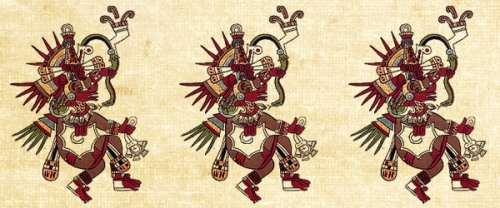 Aztec God Pictures