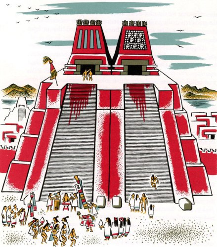 Aztec Gods and Sacrifice