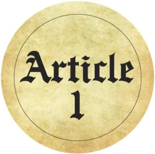 Facts about Article 1 of the Constitution