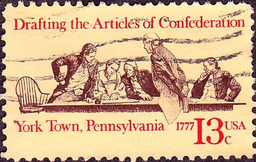 Facts about Articles of Confederation