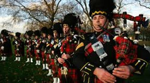 Bagpipes Playing