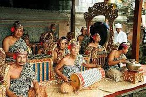 Balinese Gamelan Image