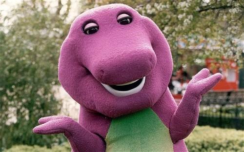 Barney Cute
