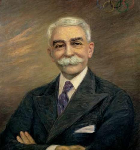 Baron de Coubertin
