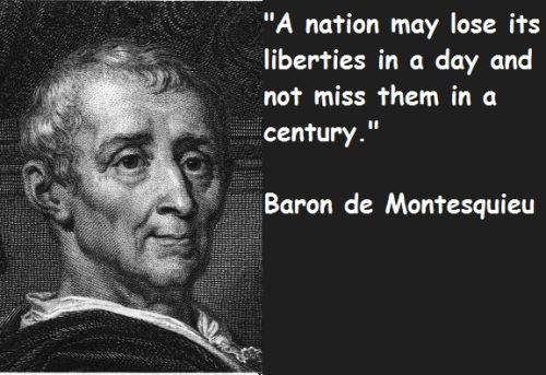 Baron de Montesquieu Quote