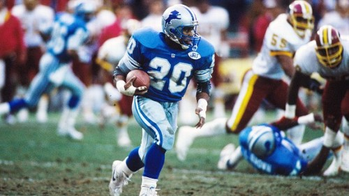 Barry Sanders Player