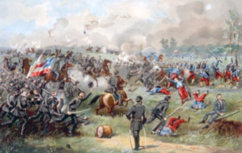 Battle of Bull Run Pic