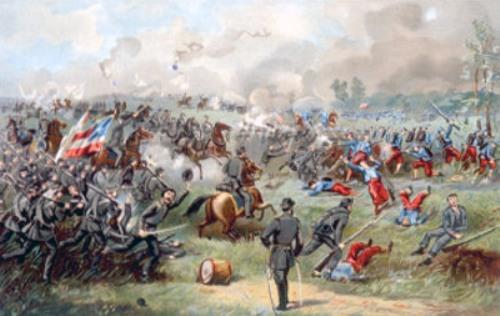 Battle of Bull Run Pic