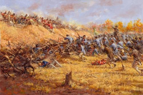 Battle of Saratoga Picture