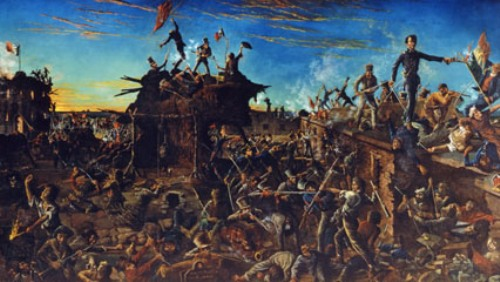 Battle of The Alamo Pic