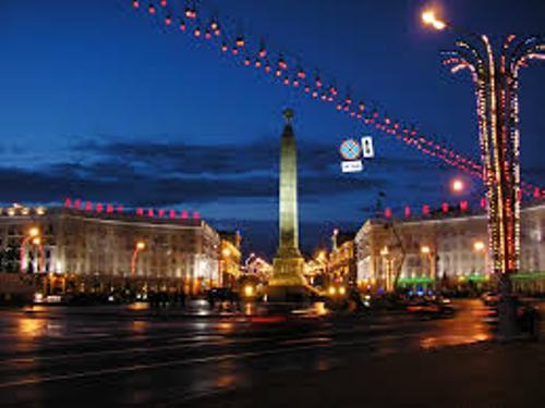 Belarus at Night